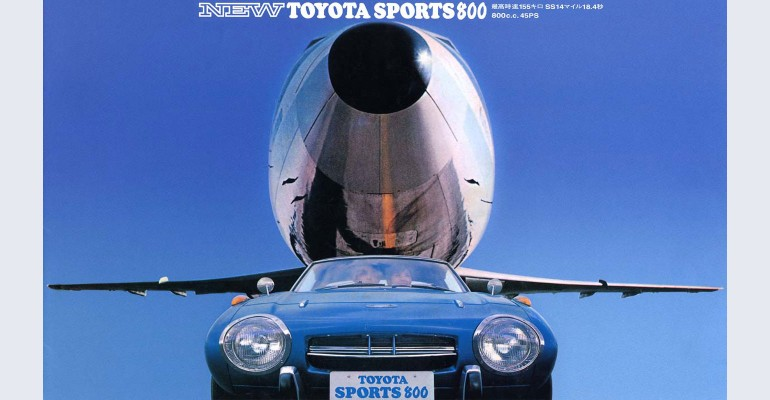Toyota Sports 800 brosura