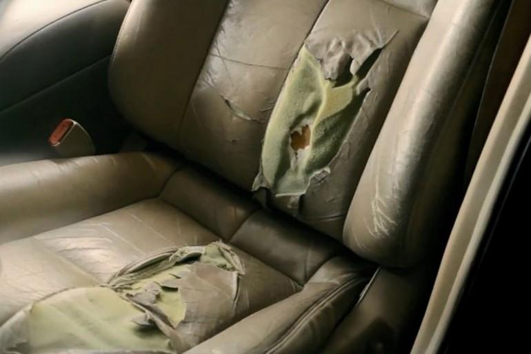 Nissan Maxima Luxury sediste