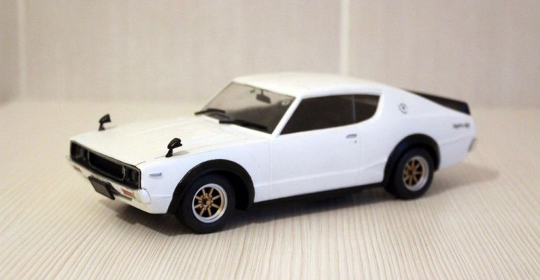 Datsun Skyline Kenmery model