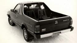 Subaru Brat tovarni prostor