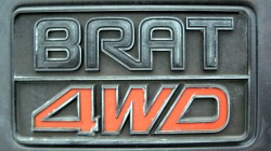 Subaru Brat logo