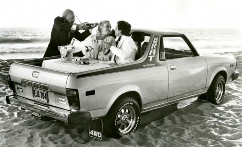 Subaru Brat promo
