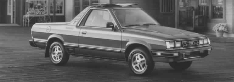 1984 Subaru Brat turbo