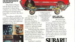 Subaru Leone Wagon 4wd