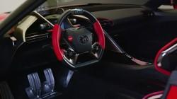 Toyota FT-1 enterijer