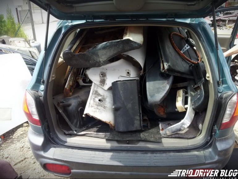 Mazda 1500 Luce delovi