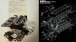 OS GIKEN glava na Nissan 240Z