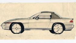 Mazda Mx-5 Miata skica