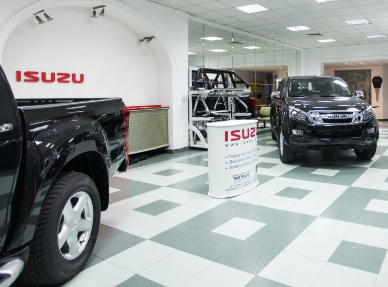 Isuzu prodajni salon Novi Sad