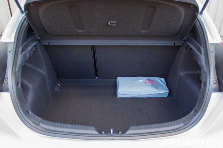 Kia pro_ceed test prtljažnik