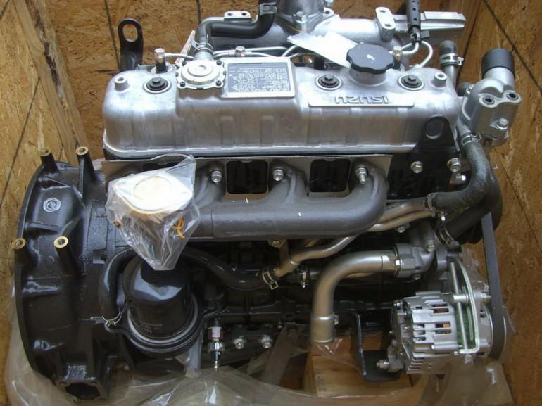 Isuzuov DT motor