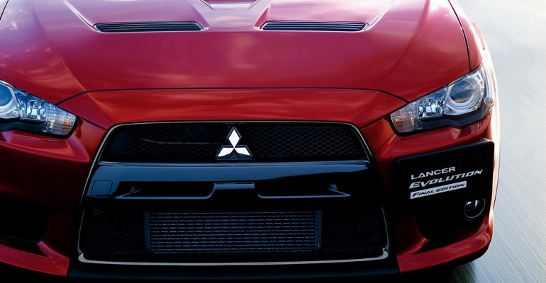 Mitsubishi Lancer Evoluton Final Concept