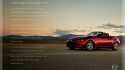 Mazda MX-5 Miata Drivig Matters