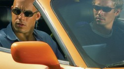 Paul Walker and Vin Diesel in Toyota Fast and the furious