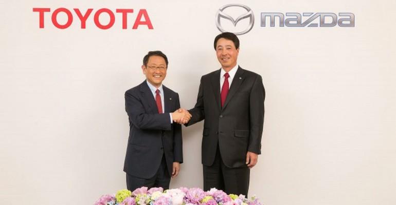 Toyota i Mazda partnerstvo