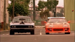Toyota Supra vs Dodge Charger The Fast and The Furious