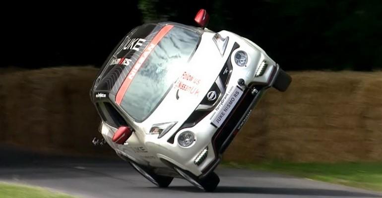 Nissan Juke Nismo RS goodwood