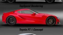 Toyota Supra 2017 render