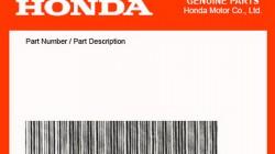 Honda oem delovi