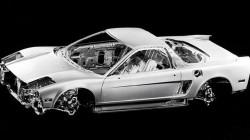 Honda NSX Karoserija