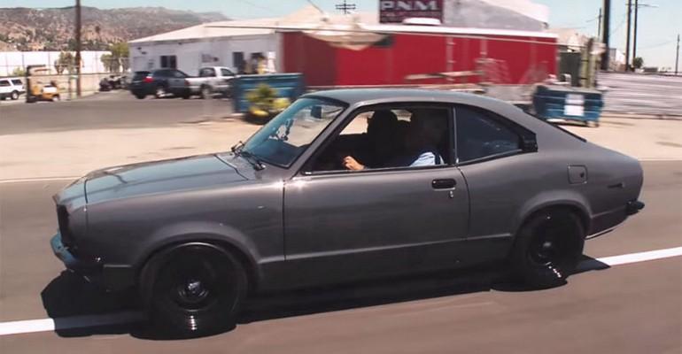 Mazda RX-3 Jay Leno