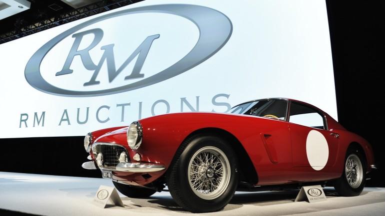 Ferrari 250 auction