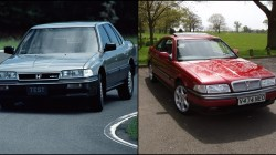 Honda Legend i Rover 800